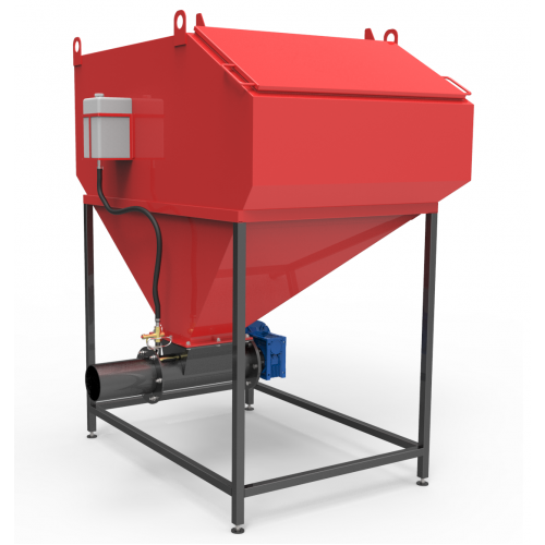 Шнекова система подачі палива 900-2000 кВт 5 куб. м