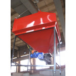 Шнекова система подачі палива 100-150 кВт 1,5 куб. м