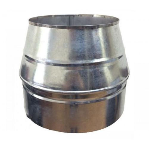 Конус димохідний 200/260 нерж/оцинк 1 мм