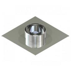 Підставка настінна двостінна для димоходу 300/360 нерж 0,6 мм