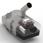 Факельний пальник OXI Ceramik+ 75 кВт