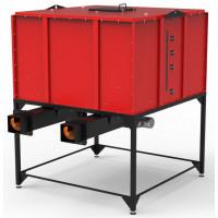 Автоматизований бункер-склад для щепи, пелет, агровідходів объемом від 4,0 до 64 куб.м